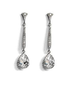 Monroe Diamante Earrings