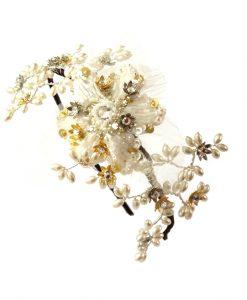 Flower lace Vine Headband