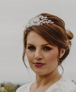 Freesia Bridal Flower Headband