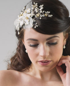 Freesia Bridal Flower Headband