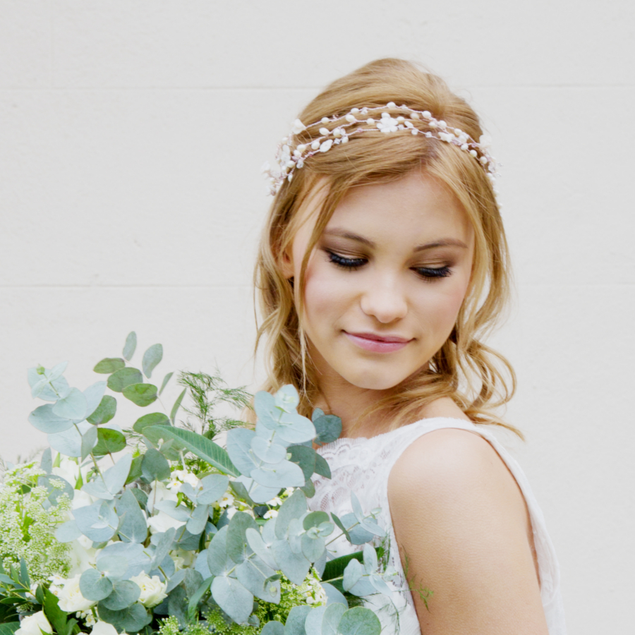 Honeysuckle Bridal Headpiece