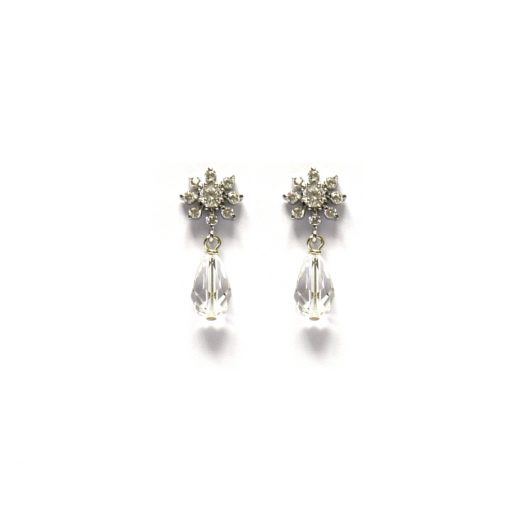 Fleur Bridal Earrings