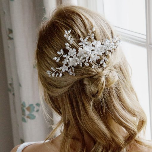 May Flower Bridal Comb