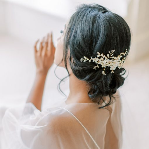 Mayflower Bridal Comb