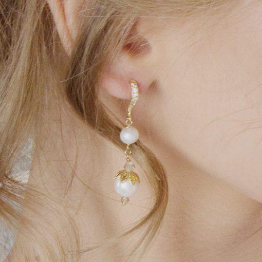 Viola Bridal Earrings