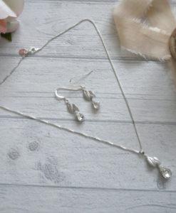 Wallflower Bridal Pendant