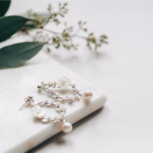 Damson Pearl Earrings