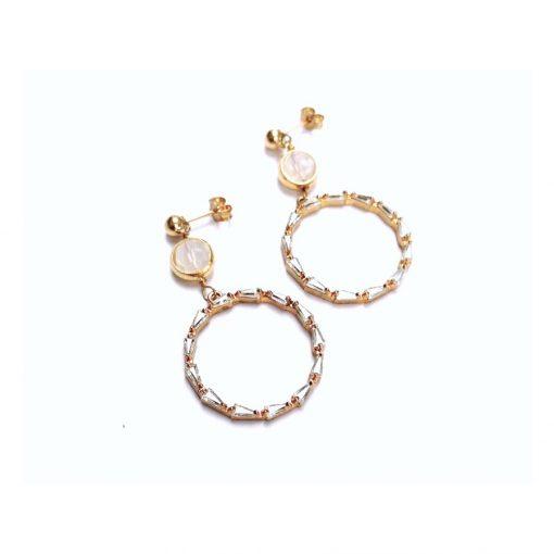 Ariel CZ Earrings