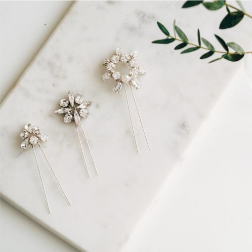 Moonbeam Trio Hairpins
