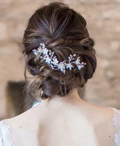 Rambling Rose Bridal Hairvine